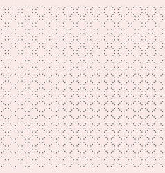 minimalist seamless pattern tiny dots vector image