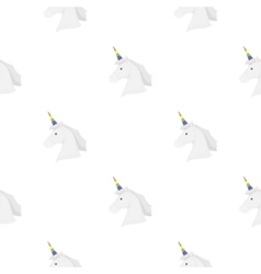 Unicorn icon cartoon pattern gay icon from the vector