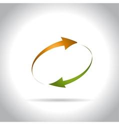 arrow9 vector image