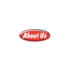 About us button vector image vector image