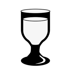 Beer glass icon image vector