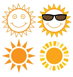 Set of suns vector