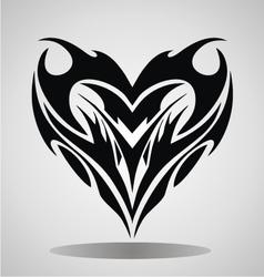 Tribal heart vector
