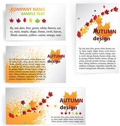 Autumn Business Design vector