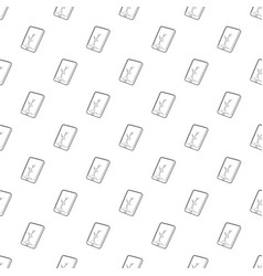 gadget crack screen icon outline style vector image