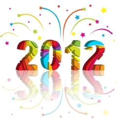 New year 2012 vector