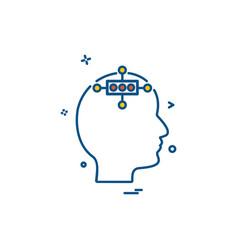 study icon design vector image