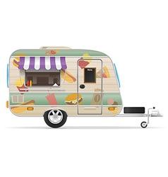 trailer food 02 vector image