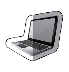 laptop icon stock image vector image