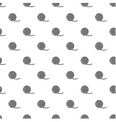 yarn ball toy for cat pattern vector image