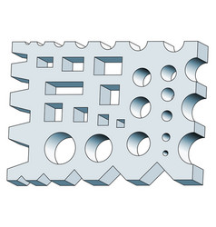 Forging shape tool vector