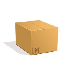 Post parcel vector image