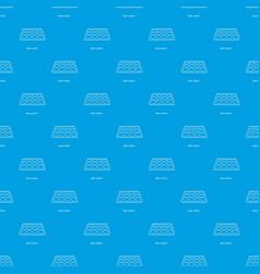 Spot plate pattern seamless blue vector