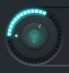 User interface design concept vector