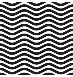 Wavy line zebra seamless pattern vector