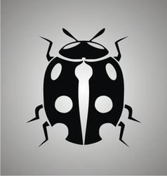 Tribal Ladybug vector image vector image