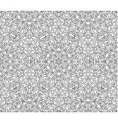 vintage ornamental lace invitation on the seamless vector image