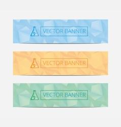 Set Of Modern Business Design Banner Template mock vector image