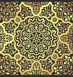 arabic motifs seamless vector image