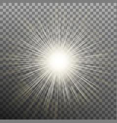 Burst effects on transparent background eps 10 vector