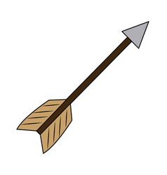 business arrow tag success symbol vector image