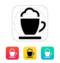 Espresso cup icon vector image
