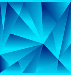 Polygonal background with triangle shapes vector
