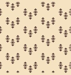 tribal southwestern native american pattern vector image