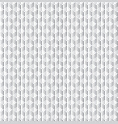 geometric cubes pattern grey seamless vector image vector image