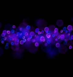 abstract bokeh background vector image