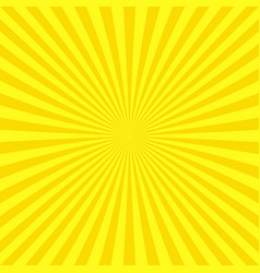 abstract ray burst background from radial stripes vector image