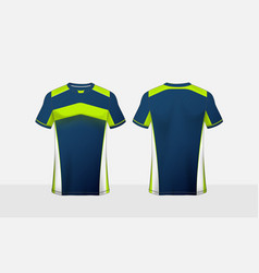 Blue green and white pattern layout e-sport vector