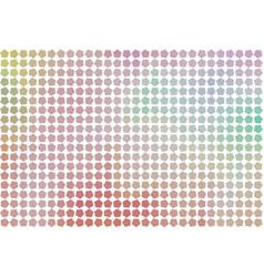 Color abstract pentagon pattern generative art vector