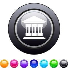 Exchange circle button vector image