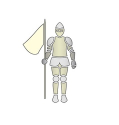 Knight-380x400 vector image