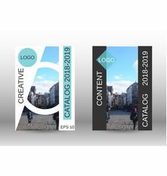 Modern cover design vector