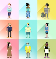 People avatar set2 vector