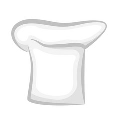 Realistic stylish 3d chef cook hat design of cap vector