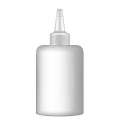 School glue office icon realistic style vector