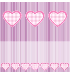 valentines hearts vector image
