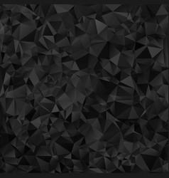 black shiny triangle background design vector image vector image