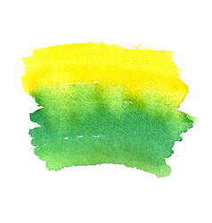 grunge abstract background brush paint watercolor vector image