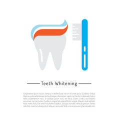 Oral hygiene vector
