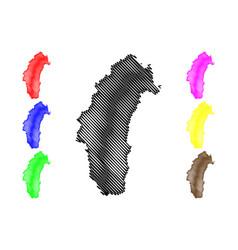 Phetchabun province map vector