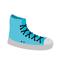 Sneaker sport fashion trendy casual vector
