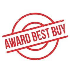 Award Best Buy rubber stamp vector image