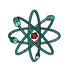 atom science element vector image vector image