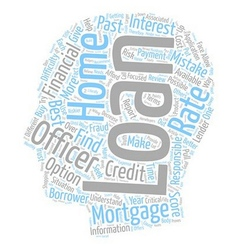 Home Mortgage Loan Mistakes Most Homebuyers Make vector image vector image