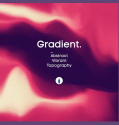 fluid gradient background design futuristic vector image
