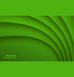 green wavy background business card pattern vector image